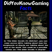 "QOTP: Have you played Oblivion? ~ Repost from @didyouknowgamingfacts ~ Accounts: - Other TES IG: @tundraofskyrim - Twitter: skyrim_dragon_ - Snapchat: cocoachicken - YouTube: Link in bio. - Personal: @holly_rowlands_ • tes elderscrolls theelderscrolls elderscrollsv theelderscrollsv elderscrollsonline eso tamriel skyrim skyrimmeme skyrimmemes gaming game games rpg dovahkiin Dragonborn Bethesda dragon dragons oblivion tesiv tes4 es4 didyouknowgaming greybeards tinysmole: DidYouKnowGaming  Facts  In ""The Elder Scrolls Iv: Oblivion"", you can  come ucross NPCs talking about how the  Greybeards of Skyrim are talking about the  end of the world. This could be a possible  teaser for ""The Elder Scrolls Skyrim"" QOTP: Have you played Oblivion? ~ Repost from @didyouknowgamingfacts ~ Accounts: - Other TES IG: @tundraofskyrim - Twitter: skyrim_dragon_ - Snapchat: cocoachicken - YouTube: Link in bio. - Personal: @holly_rowlands_ • tes elderscrolls theelderscrolls elderscrollsv theelderscrollsv elderscrollsonline eso tamriel skyrim skyrimmeme skyrimmemes gaming game games rpg dovahkiin Dragonborn Bethesda dragon dragons oblivion tesiv tes4 es4 didyouknowgaming greybeards tinysmole"