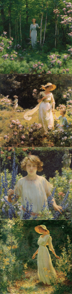 die-rosastrasse:   Charles Courtney Curran  American, 1861–1942  : die-rosastrasse:   Charles Courtney Curran  American, 1861–1942