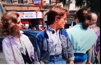 Marty McFly was the original distracted boyfriend: DIE WILSON LS  DUSTRIE Marty McFly was the original distracted boyfriend