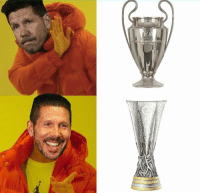 Finals, Memes, and Champions League: Diego Simeone:  2 UEFA Champions League finals: 0 Title  2 UEFA Europa League finals: 2 Titles https://t.co/f71PRUzVvz