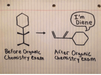 Chemistry, Organic, and Organic Chemistry: Diene  Before Orgoni After OrssniC  Chemistry exam Chemistry exom <p>Organic Chemistry Exam Before And After.</p>