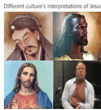 Jesus, Different, and Different-Cultures-Interpretations-Of-Jesus: Different culture's interpretations of Jesus