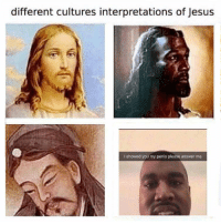 Jesus, Penis, and Answer: different cultures interpretations of Jesus  I showed you my penis please answer me https://t.co/ku7a6BBbNF