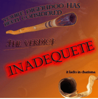 "Reddit, Com, and Src: DIGRIDOO  RISIDERED  LAS  YOURE DI  THE VERDIC  INADEQUETE  it lacks in charisma <p>[<a href=""https://www.reddit.com/r/surrealmemes/comments/7jfxbn/the_council_has_decided/"">Src</a>]</p>"