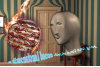 """Reddit, Cool, and Bacon: dimensional baconk c  looks cool and  goo0 <p>[<a href=""""https://www.reddit.com/r/surrealmemes/comments/815wq3/only_the_sizzle_of_the_bacon_can_distract_you/"""">Src</a>]</p>"""