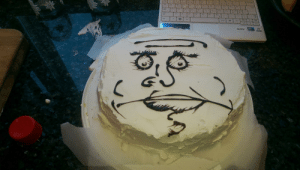 When i was 13 i asked my mom for a meme cake....: dina ate When i was 13 i asked my mom for a meme cake....