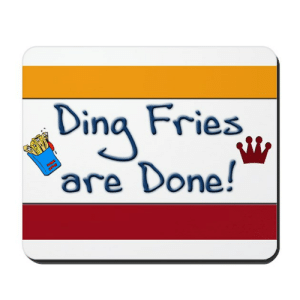 Ding, fries are done Term paper Sample - March 2019: Dina Fries  are Done! Ding, fries are done Term paper Sample - March 2019