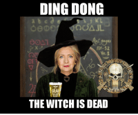 Memes, Cold, and 🤖: DING DONG  B1-52  THE WITCH ISDEAD DING DONG THE WITCH IS DEAD!   Cold Dead Hands