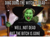 dong: DING DONG THE IS DEAD  WELL. NOT DEAD  BUT THE BITCH IS GONE