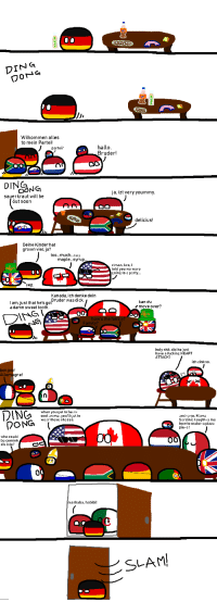 Family, Fucking, and Party: DING  Wilkommen alles  to mein Partei  hallo  Bruder!  partei?  DINC  ja, izt very yoummy  sauerkraut will be  öut soon  delicius!  Deine Kinderhat  grown viel, ja?  too...much...burp  maple...syrup  c'mon, bro. I  told you we were  going to a party...  yep  Kanada, ich denke  kan du  am,just that he's goBruder was dicke deln  damn sweet tooth  r move over?  NG  Drs  how's the famil  Family?  holy shit, did he just  have a fucking HEART  ATTACK?  ich zink so  bonjou  Alle  rk  gne!  ING  when you get to be as  cool as me, you'll getto  wear these shades.  and-a so, Mama  Sardinia taught-a me  how to make-a pizza  pie-a!  who could  be comink  zis late?  0  arhaba, habibi!  SLAM Germany's family party
