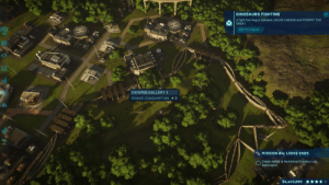 Dinosaurs, Julius Caesar, and Power: DINOSAURS FIGHTING  A fight has begun between JULIUS CAESAR and POMPEY THE  GREAT.  GO TO FIGHT  VIEWING GALLERY 1  POWER CONSUMPTION 3  MISSION #4: LOOSE ENDS  Create hybrid at Hammond Creation Lab:  Spinoraptor  $4,403,899 **** The Battle of Dyrrhachium (48 BCE)