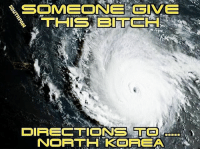 America, Memes, and North Korea: DIRECTIONS TO  NORTH KOREA merica america usa irma hurricane