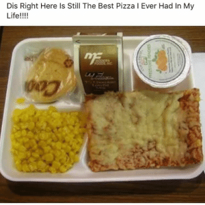 Life, Pizza, and Best: Dis Right Here Is Still The Best Pizza I Ever Had In My  Life!!!! Who remembers this!?👇🔥