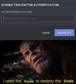 25+ Best Two Factor Authentication Memes | Two Memes, Accountability