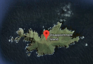 I found my home: Disappointment  Island I found my home