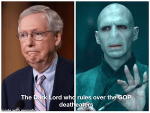 Discovering Republicans just elect and appoint officials based on Harry Potter villains and their evil traits. #Dobblegangers: Discovering Republicans just elect and appoint officials based on Harry Potter villains and their evil traits. #Dobblegangers