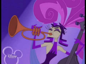 scarlethyena:  I'm sorry, but are you aware that Yzma has her own villain song, which was apparently supposed to be in the original version of the Emperor's New Groove?: DISNEP scarlethyena:  I'm sorry, but are you aware that Yzma has her own villain song, which was apparently supposed to be in the original version of the Emperor's New Groove?