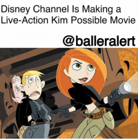 "Definitely, Disney, and Kim Possible: Disney Channel Is Making a  Live-Action Kim Possible Movie  @balleralert Disney Channel Is Making a Live-Action Kim Possible Movie - Blogged by: @RaquelHarrisTV ⠀⠀⠀⠀⠀⠀⠀⠀⠀ ⠀⠀⠀⠀⠀⠀⠀⠀⠀ They say Disney makes all your dreams come true, and that's definitely true now because Disney channel is making a live-action KimPossible movie. ⠀⠀⠀⠀⠀⠀⠀⠀⠀ ⠀⠀⠀⠀⠀⠀⠀⠀⠀ Just like the TV series, the film will follow the adventures of high school student Kim Possible as she saves the world one day at a time with her sidekick RonStoppable and his naked mole rat Rufus with the help kid genius Wade. ⠀⠀⠀⠀⠀⠀⠀⠀⠀ ⠀⠀⠀⠀⠀⠀⠀⠀⠀ The movie will be written and executively produced by the original show creators, Mark McCorkle and Robert Schooley. It will be co-directed and co-produced by Adam B. Stein and Zach Lipovsky. ⠀⠀⠀⠀⠀⠀⠀⠀⠀ ⠀⠀⠀⠀⠀⠀⠀⠀⠀ ""Mark and Bob created an enduring character and kids all over the world found a friend in her, an average girl who just happens to spend her off-school hours thwarting evil villains,"" said Adam Bonnett, executive vice president, original programming for Disney Channels Worldwide."" ⠀⠀⠀⠀⠀⠀⠀⠀⠀ ⠀⠀⠀⠀⠀⠀⠀⠀⠀ Kim Possible aired for the first time in 2002 and had 87 episodes. By 2003 the show had gained an Emmy nomination for Outstanding Animated Program. The show was so good that Disney Channel even gave it two animated films, ""Kim Possible Movie: So the Drama"" and ""Kim Possible: A Sitch in Time."" ⠀⠀⠀⠀⠀⠀⠀⠀⠀ ⠀⠀⠀⠀⠀⠀⠀⠀⠀ No release dates have been shared and the studio is still casting for the role of Kim Possible."