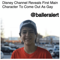 "Best Friend, Crush, and Disney: Disney Channel Reveals First Main  Character To Come Out As Gay  @balleralert Disney Channel Reveals First Main Character To Come Out As Gay - blogged by @baetoven_ ⠀⠀⠀⠀⠀⠀⠀ ⠀⠀⠀⠀⠀⠀⠀ For the first time ever, DisneyChannel will reveal a gay main character on their hit TV show "" AndiMack."" ⠀⠀⠀⠀⠀⠀⠀ ⠀⠀⠀⠀⠀⠀⠀ This season, 13-year-old Andi tries to sort out her feelings for her longtime crush Jonah Beck, but her best friend Cyrus realizes he has feelings for Jonah also, marking Disney's first development of the coming-out journey. ⠀⠀⠀⠀⠀⠀⠀ ⠀⠀⠀⠀⠀⠀⠀ ""With more and more young people coming out as LGBTQ, 'Andi Mack' is reflecting the lives and lived experiences of so many LGBTQ youth around the country,"" Sarah Kate Ellis, President and CEO of GLAAD, said in a statement. ""Television reflects the real life world and today that includes LGBTQ youth who deserve to see their lives depicted on their favorite shows. Disney has been a leader in LGBTQ inclusion and there are so many young people who will be excited to see Cyrus' story unfold."" ⠀⠀⠀⠀⠀⠀⠀ ⠀⠀⠀⠀⠀⠀⠀ The new season of ""Andi Mack"" premieres on Oct. 27."