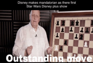It's only natural.: Disney makes mandalorian as there first  Star Wars Disney plus show  Outstanding move It's only natural.