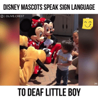 Birthday, Disney, and Life: DISNEY MASCOTS SPEAK SIGN LANGUAGE  O OLIVE.CREST  TO DEAF LITTLE BOY 1. Don't believe me (just try) 2. This is completely nuts. 3. My jaw dropped when I read my report and got the guidance. I needed for my life success in 2018. 4. Pop in your name and birthday and see for yourself. (it's free) http://bit.ly/decodesz 5. Get the direction and clarification you need for 2018 with the numbers in nature (and answers) you need for the most successful year EVER!