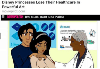 Disney Princesses Lose Their Healthcare In  Powerful Art  moviepilot.com  LOVE CELEBS BEAUTY STYLE POLITICS  Yes  organization  A guide to family planning  for community health  of >implying princesses need healthcare -Le Baron Rouge