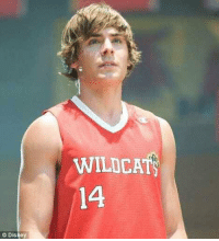 If you a real NBA fan, who is this?: Disney  WILDCATS  14 If you a real NBA fan, who is this?