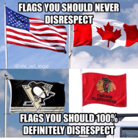 Chicago, Funny, and Memes: DISRESPECT  ogic  CHICAGO  FLAGS YOU SHOULD!00%  DEFINITELYDISRESPECT I'm not interested in a political debate I just though this was funny