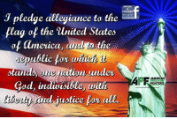 Memes, 🤖, and Allegiance: DISTRESS  J pledge allegiance to the  like us on  facebook  flag of the united States  af america, ar  the e  ublic  under  astatuds  ged, indivisible  aith  and ustice par a  AMERICAS  FIGHTERS Good morning Patriots and God Bless!