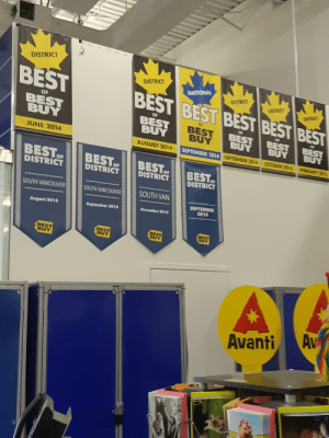 Best Buy, Best, and Best Of: DISTRICT  DISTRICT  BEST  NATIONAL  BEST BEST BEST BEST BEst  OF  BEST  OF  BEST  BUY  AUGUST 2014  OF  BEST  BUY  JUNE 2014  SEPTEMBER 2014 SEPTEMBE  R 2014 OCTOBER 214 FEBRUARS 2e  OF  DISTRICT  SOUTH VANCOUVE SOUTHVANCOUVER OUTHVAN  SEPTEMBER  2018  August 2015  September 2015  November 2015  BEST  BUY  BEST  BUY  BEST  Avanti Av Some controversy went down at this Best Buy in July 2014