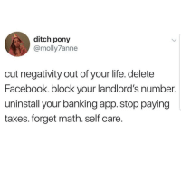 Lmaoo 😂😂😂😂😂 🔥 Follow Us 👉 @latinoswithattitude 🔥 latinosbelike latinasbelike latinoproblems mexicansbelike mexican mexicanproblems hispanicsbelike hispanic hispanicproblems latina latinas latino latinos hispanicsbelike: ditch pony  @molly7anne  cut negativity out of your life. delete  Facebook. block your landlord's number.  uninstall your banking app. stop paying  taxes. forget math. self care Lmaoo 😂😂😂😂😂 🔥 Follow Us 👉 @latinoswithattitude 🔥 latinosbelike latinasbelike latinoproblems mexicansbelike mexican mexicanproblems hispanicsbelike hispanic hispanicproblems latina latinas latino latinos hispanicsbelike