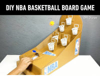 Best game ever. I would play that! By DIY Ocean: DIY NBA BASKETBALL BOARD GAME  DIY Ocean Best game ever. I would play that! By DIY Ocean
