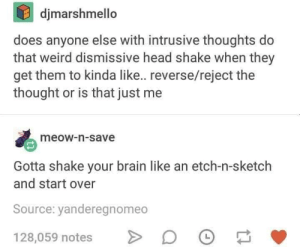 Intrusive Thoughts