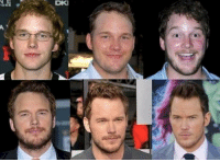 Chris Pratt has gotten squinty-er with age. Looks to be easing up.: DKI Chris Pratt has gotten squinty-er with age. Looks to be easing up.