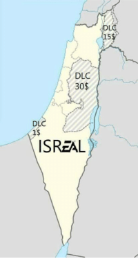 "Capital, Game, and Experience: DLC  15  DLC  30$  DL  1s  ISREAL Must purchase ""Two State Solution"" DLC for the UN to recognize Jerusalem as your capital"