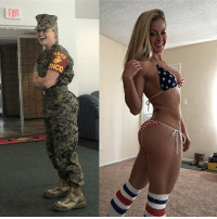 Dogs, Friday, and Memes: DNCO Well, typically we do Freedom Friday but this photo was way to 🔥🔥🔥 to wait. Freedom Girl @optimus_primette is AAF! Ooorah Devil Dogs 🤤