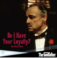 The Godfather won 3 Academy Awards in 1972, including Best Actor in a Leading Role for Marlon Brando and Best Picture of the Year #ParamountAwardWinner http://j.mp/s56oao: Do Have  Your Loyalty?  -Don Vilo Corleone  The Godfather The Godfather won 3 Academy Awards in 1972, including Best Actor in a Leading Role for Marlon Brando and Best Picture of the Year #ParamountAwardWinner http://j.mp/s56oao