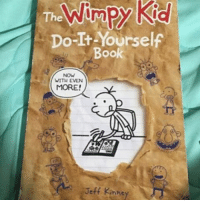 Memes, 🤖, and Do It: Do-It Yourself  Book  WITH EVEN  MORE!  Jeff Kinney Fuck that new nigga notmyrodrick