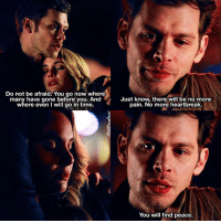 Memes, 🤖, and Tvd: Do not be afraid. You go now where  many have gone before you. And  where even i will go in time.  Just know, there will be no more  pain. No more heartbreak.  You will find peace. [ TheOriginalsWeek2017] Day 3: Saddest scene ↳ 3x19 ⠀ These two scenes were so cruel, I'll never forgive the writers for killing them both off in one episode 💔 ⠀ Q: What's the saddest TO scene for you? ⠀ My edit give credit [ klamille kolvina klausmikaelson camilleoconnell kolmikaelson davinaclaire theoriginals tvd thevampirediaries vampirediaries 164k]