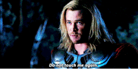 Gif, Touch, and Context: Do not touch me again just an out of context gif