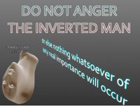 "Reddit, Com, and Man: DO NOTANGER  THE INVERTED MAN  v ese notring whatsoever of  l honestly could  not care less  ance will o  occur <p>[<a href=""https://www.reddit.com/r/surrealmemes/comments/80mx4s/w_a_r_n_i_n_g/"">Src</a>]</p>"