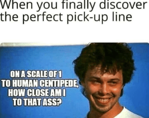 Do pickup lines actually work? Asking for a friend… by imafossil MORE MEMES: Do pickup lines actually work? Asking for a friend… by imafossil MORE MEMES