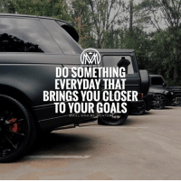 Friday, Goals, and It's Friday: DO SOMETHING  EVERYDAY THAT  BRINGS YOU CLOSER  TO YOUR GOALS  MILLIONAIRE MENTOR It's Friday! And many are just waiting to leave work to go party at night, but some are going to use their time wisely and differently. Which one are you? 👇 comment below 🔥 millionairementor change improvement goals