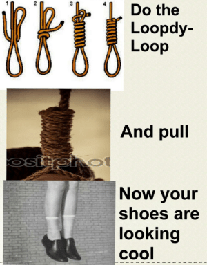 Life, Shoes, and Cool: Do the  7  2  3  Loopdy-  Loop  And pull  SI  Now your  shoes are  looking  cool Only Lesson I Need In Life
