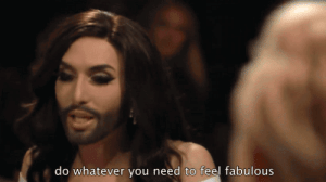 cuntchita:  Jesus has spoken: do whatever you need to feel fabulous cuntchita:  Jesus has spoken