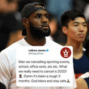 Do y'all agree with #LeBronJames?👇🏀 @KingJames https://t.co/Nbm3HzEHGn: Do y'all agree with #LeBronJames?👇🏀 @KingJames https://t.co/Nbm3HzEHGn