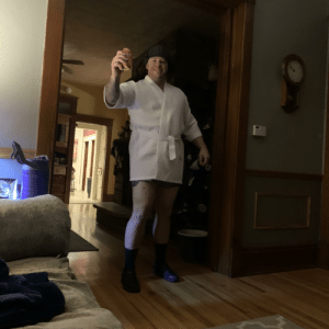 Do you guys like your dads cousin Eddie costume: Do you guys like your dads cousin Eddie costume
