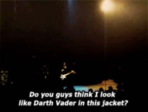Darth Vader, Darth, and Vader: Do you guys think I look  like Darth Vader in this jacket?