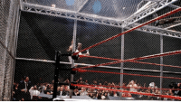 Do you have a favorite #WWE Hell in a Cell match? Check out the 36 matches. This Sunday will increase the history up to 38! Sound off in the Team Awesome comment section.  1. Shawn Michaels vs. The Undertaker: Badd Blood. October 5, 1997 2.The Undertaker and Stone Cold Steve Austin vs. Mankind and Kane. Raw Is War. June 15, 1998 3.The Undertaker vs. Mankind. King of the Ring. June 28, 1998 4. Mankind vs. Kane ended in a no contest. Raw Is War. August 24, 1998 5. The Undertaker vs. Big Boss Man.  WrestleMania XV.  March 28, 1999 6.  Triple H (c) vs. Cactus Jack. No Way Out. February 27, 2000 7. Kurt Angle (c) vs. The Undertaker, Triple H, Stone Cold Steve Austin, Rikishi and The Rock.  Armageddon. December 10, 2000 8. Triple H vs. Chris Jericho. Judgment Day. May 19, 2002 9. Brock Lesnar (c) vs. The Undertaker. No Mercy. October 20, 2002 10. Triple H (c) vs. Kevin Nash. Bad Blood. June 15, 2003 11.  Triple H vs. Shawn Michaels. Bad Blood. June 13, 2004 12. Batista (c) vs. Triple H. Vengeance. June 26, 2005 13. The Undertaker vs. Randy Orton. Armageddon  December 18, 2005 14. D-Generation X (Triple H and Shawn Michaels) vs. Mr. McMahon, Shane McMahon and Big Show.  Unforgiven  September 17, 2006 15.   Batista (c) vs. The Undertaker.  Survivor Series  November 18, 2007 16. The Undertaker vs. Edge. SummerSlam. August 17, 2008 17. The Undertaker vs. CM Punk (c) 18. Randy Orton vs. John Cena (c) 19. D-Generation X (Triple H and Shawn Michaels) vs. Legacy (Cody Rhodes and Ted DiBiase). Hell in a Cell. October 4, 2009 20. Randy Orton (c) vs. Sheamus  21. Kane (c) vs. The Undertaker. Hell in a Cell. October 3, 2010 22. John Cena (c) vs. Alberto Del Rio, CM Punk, Dolph Ziggler and Jack Swagger.   Raw (Dark Match). September 26, 2011 23. Mark Henry (c) vs. Randy Orton  24. Alberto Del Rio vs. John Cena (c) and CM Punk. Hell in a Cell. October 2, 2011 25. The Undertaker vs. Triple H. WrestleMania XXVIII. April 1, 2012 26. CM Punk (c) vs. Ryback. Hell in a Cell. October 28, 2012 27. CM Punk vs. Ryback and Paul Heyman 28.  Randy Orton vs. Daniel Bryan. Hell in a Cell. October 27, 2013 29. John Cena vs. Randy Orton 30. Seth Rollins vs. Dean Ambrose. Hell in a Cell. October 26, 2014  31. Roman Reigns vs. Bray Wyatt 32. Brock Lesnar vs. The Undertaker. Hell in a Cell. October 25, 2015  33. The Undertaker vs.  Shane McMahon. WrestleMania 32.  April 3, 2016  34. Roman Reigns (c) vs. Rusev 35. Kevin Owens (c) vs. Seth Rollins 36. Charlotte Flair vs. Sasha Banks (c). Hell in a Cell  October 30, 2016: Do you have a favorite #WWE Hell in a Cell match? Check out the 36 matches. This Sunday will increase the history up to 38! Sound off in the Team Awesome comment section.  1. Shawn Michaels vs. The Undertaker: Badd Blood. October 5, 1997 2.The Undertaker and Stone Cold Steve Austin vs. Mankind and Kane. Raw Is War. June 15, 1998 3.The Undertaker vs. Mankind. King of the Ring. June 28, 1998 4. Mankind vs. Kane ended in a no contest. Raw Is War. August 24, 1998 5. The Undertaker vs. Big Boss Man.  WrestleMania XV.  March 28, 1999 6.  Triple H (c) vs. Cactus Jack. No Way Out. February 27, 2000 7. Kurt Angle (c) vs. The Undertaker, Triple H, Stone Cold Steve Austin, Rikishi and The Rock.  Armageddon. December 10, 2000 8. Triple H vs. Chris Jericho. Judgment Day. May 19, 2002 9. Brock Lesnar (c) vs. The Undertaker. No Mercy. October 20, 2002 10. Triple H (c) vs. Kevin Nash. Bad Blood. June 15, 2003 11.  Triple H vs. Shawn Michaels. Bad Blood. June 13, 2004 12. Batista (c) vs. Triple H. Vengeance. June 26, 2005 13. The Undertaker vs. Randy Orton. Armageddon  December 18, 2005 14. D-Generation X (Triple H and Shawn Michaels) vs. Mr. McMahon, Shane McMahon and Big Show.  Unforgiven  September 17, 2006 15.   Batista (c) vs. The Undertaker.  Survivor Series  November 18, 2007 16. The Undertaker vs. Edge. SummerSlam. August 17, 2008 17. The Undertaker vs. CM Punk (c) 18. Randy Orton vs. John Cena (c) 19. D-Generation X (Triple H and Shawn Michaels) vs. Legacy (Cody Rhodes and Ted DiBiase). Hell in a Cell. October 4, 2009 20. Randy Orton (c) vs. Sheamus  21. Kane (c) vs. The Undertaker. Hell in a Cell. October 3, 2010 22. John Cena (c) vs. Alberto Del Rio, CM Punk, Dolph Ziggler and Jack Swagger.   Raw (Dark Match). September 26, 2011 23. Mark Henry (c) vs. Randy Orton  24. Alberto Del Rio vs. John Cena (c) and CM Punk. Hell in a Cell. October 2, 2011 25. The Undertaker vs. Triple H. WrestleMania XXVIII. April 1, 2012 26. CM Punk (c) vs. Ryback. Hell in a Cell. October 28, 2012 27. CM Punk vs. Ryback and Paul Heyman 28.  Randy Orton vs. Daniel Bryan. Hell in a Cell. October 27, 2013 29. John Cena vs. Randy Orton 30. Seth Rollins vs. Dean Ambrose. Hell in a Cell. October 26, 2014  31. Roman Reigns vs. Bray Wyatt 32. Brock Lesnar vs. The Undertaker. Hell in a Cell. October 25, 2015  33. The Undertaker vs.  Shane McMahon. WrestleMania 32.  April 3, 2016  34. Roman Reigns (c) vs. Rusev 35. Kevin Owens (c) vs. Seth Rollins 36. Charlotte Flair vs. Sasha Banks (c). Hell in a Cell  October 30, 2016