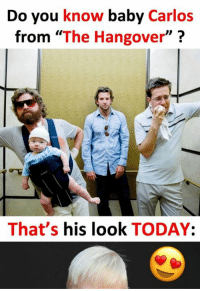"Do you know baby Carlos from ""The Hangover""? That's his look TODAY:  Read the full story here 👉 http://1jux.com/-gLtq: Do you know baby Carlos  from ""The Hangover  That's  his look  TODAY Do you know baby Carlos from ""The Hangover""? That's his look TODAY:  Read the full story here 👉 http://1jux.com/-gLtq"